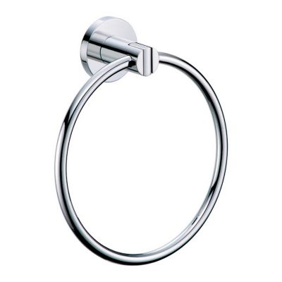 Channel Towel Ring - Chrome