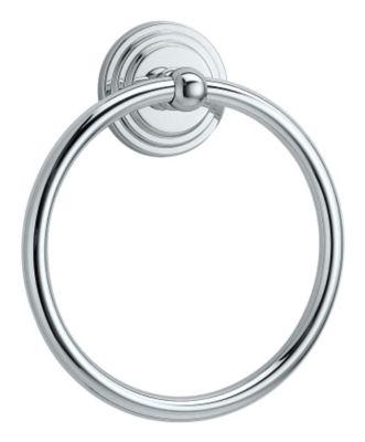 Marina Towel Ring - Chrome