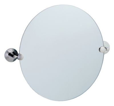 Marina Round Mirror - Chrome