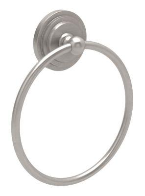 Marina Towel Ring - Satin Nickel