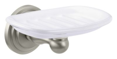 Marina Wall Mount Soap Dish - Satin Nickel