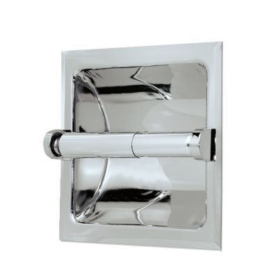 Bathroom Essentials Recessed Tissue Holder