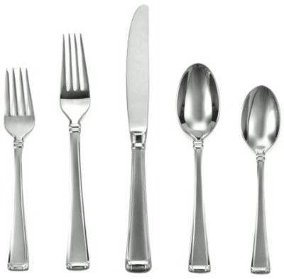 Column Frosted™ 5 Piece Place Setting