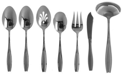 Tulip Frosted™ 7-Piece Entertainment Set