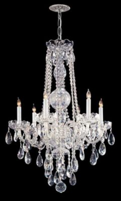 Traditional Crystal 6 Light Crystal Chandelier IV