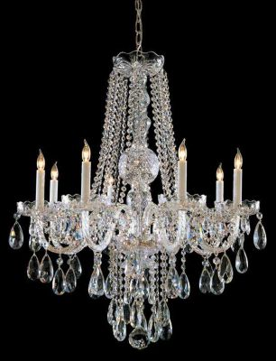 Traditional Crystal 8 Light Crystal Chandelier I