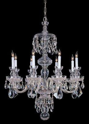 Traditional Crystal 8 Light Crystal Chandelier IV