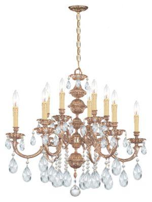Oxford 12 Light Crystal Chandelier