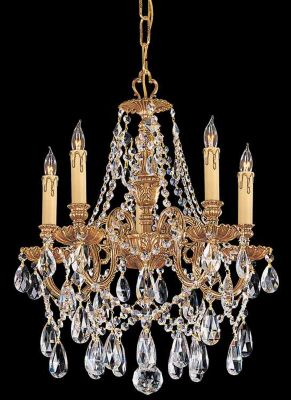 Novella 5 Light Crystal Mini Chandelier I