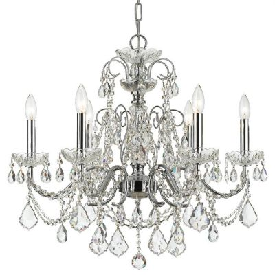 Imperial 6 Light Crystal Chandelier I
