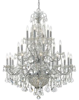 Imperial 26 Light Crystal Chandelier