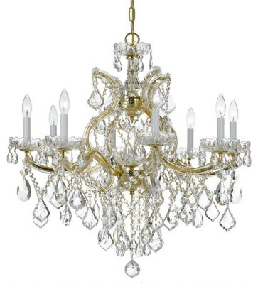 Maria Theresa 9 Light Crystal Chandelier II