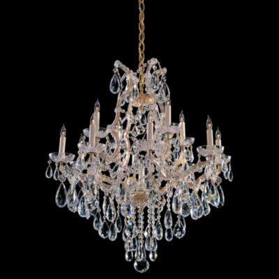 Maria Theresa 13 Light Crystal Chandelier II