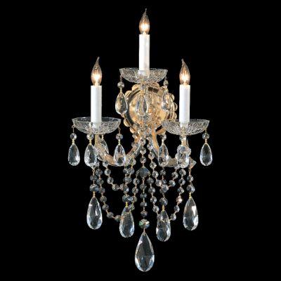 Maria Theresa 3 Light Crystal Sconce I