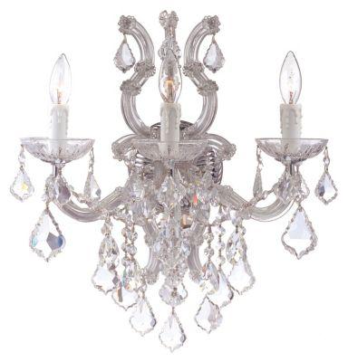 Maria Theresa 3 Light Crystal Sconce III
