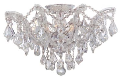 Maria Theresa 5 Light Crystal Semi- Hand Cut