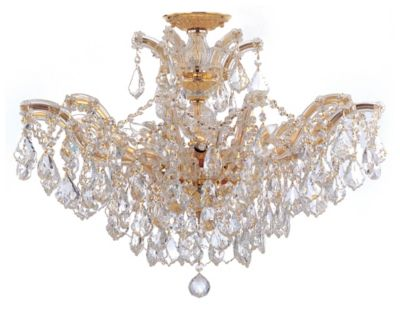 Maria Theresa 6 Light Crystal Chandelier II