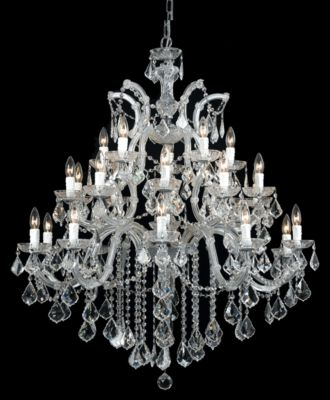 Maria Theresa 26 Light Crystal Chandelier