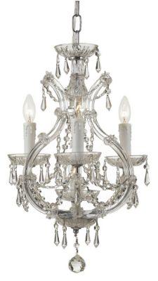 Maria Theresa 4 Light Crystal Mini Chandelier I