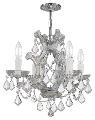 Maria Theresa 4 Light Crystal Mini Chandelier II