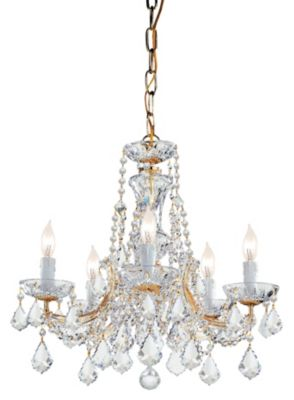 Maria Theresa 5 Light Crystal Chandelier