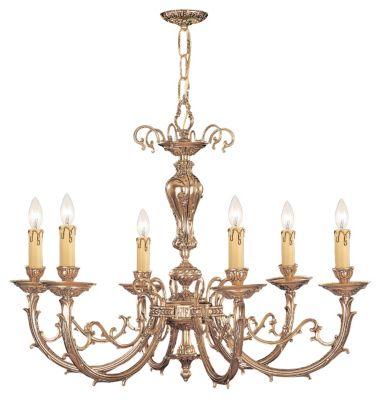 Etta 12-Light Olde Brass Chandelier