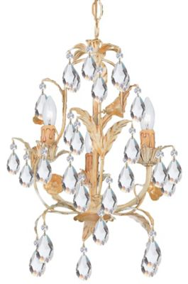 Athena 3 Light Mini Chandelier