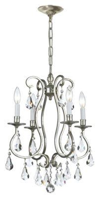 Ashton 4 Light Crystal Mini Chandelier