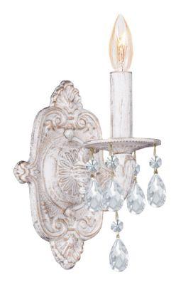 Paris Market 1 Light Crystal Sconce