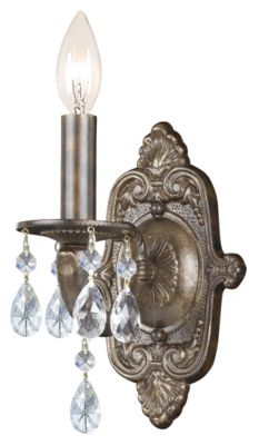 Paris Market 1 Light Crystal Sconce