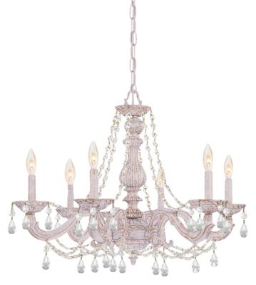 Paris Market 6 Light Crystal Chandelier I
