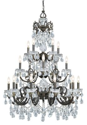 Legacy 20 Light Crystal Chandelier