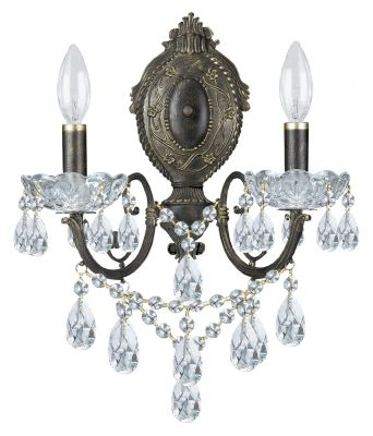 Legacy 2 Light Crystal Sconce