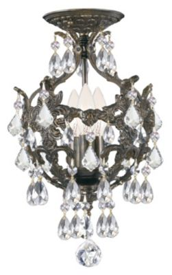 Legacy 3 Light Crystal Mini Chandelier