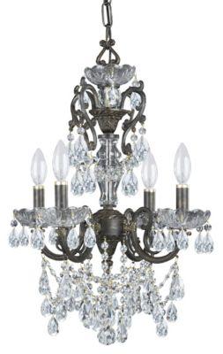Legacy 4 Light Crystal Mini Chandelier