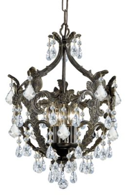 Legacy 5 Light Crystal Mini Chandelier