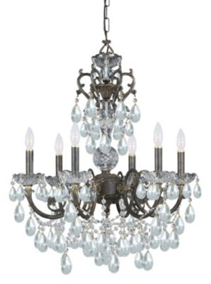 Legacy 6 Light Crystal Chandelier