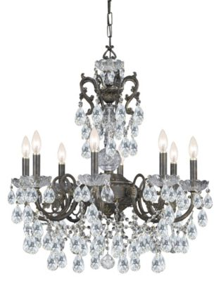 Legacy 8 Light Crystal Chandelier