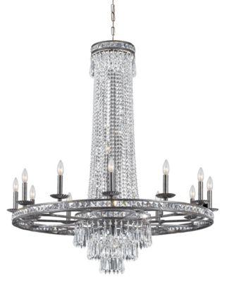 Mercer 16 Light Crystal Chandelier