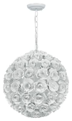 Cypress 1 Light Sphere Mini Chandelier