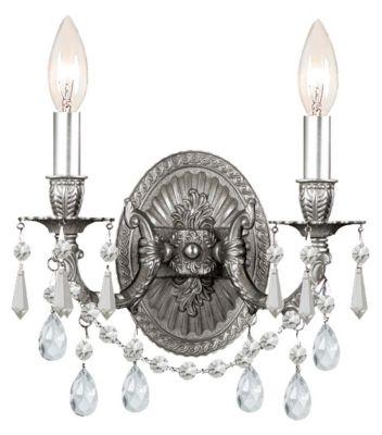 Gramercy 2 Light Crystal Sconce