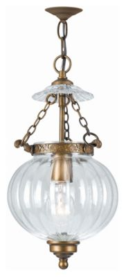 1 Light Glass Pendant I