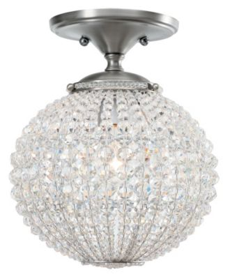 Newbury 1 Light Crystal Semi