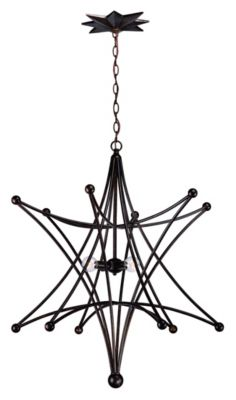 Astro 4 Light Star Chandelier