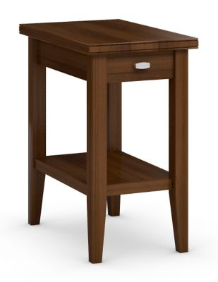 Tribeca Chairside Table with Drawer