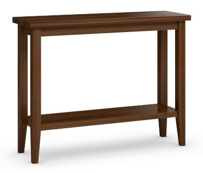 Tribeca Condo Sofa Table with Shelf