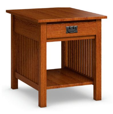 Workbench Classics End Table with Drawer
