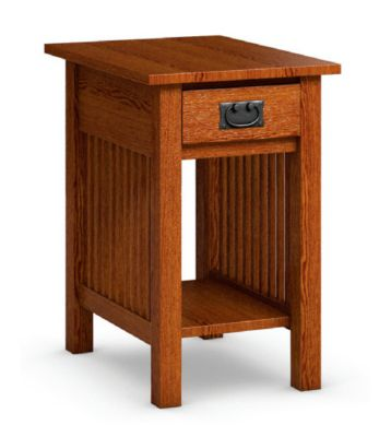 Workbench Classics Chairside Table with Drawer