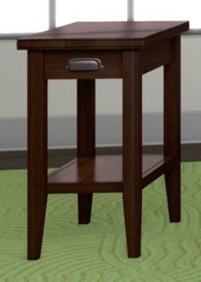 Metropolitan Chairside Table with Drawer