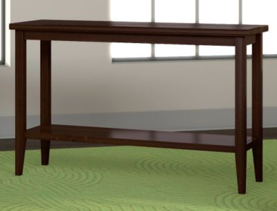 Metropolitan Sofa Table with Shelf